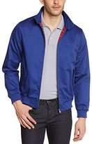Merc of London Men's Harrington Jacket Blue -
