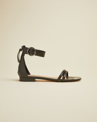 Ted Baker KELTRA Flat strappy leather sandals