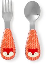 Skip Hop Zootensils Fork and Spoon-Fox