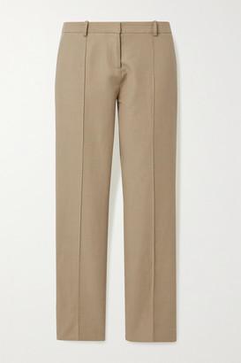 Vanessa Bruno Jame Cotton-blend Straight-leg Pants - Beige