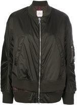 Moncler Aralia bomber jacket - women - Polyamide/Feather/Goose Down - 1