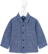 Aston Martin Kids - classic shirt - kids - Cotton/Linen/Flax - 3 mth