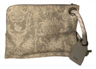 Christian Dior Grey Cloth Small bags, wallets & cases