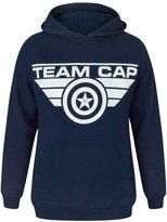 Vanilla Underground Captain America Civil War Team Cap Women's Hoodie (L)