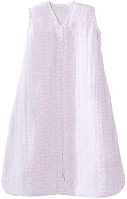 Halo Baby SleepSack Pink Circles Muslin Wearable Blanket