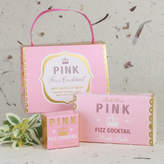 Bath House Pink Fizz Cocktail Handbag Treat