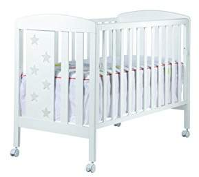 Camilla And Marc cotinfant Aruba - Cradle of 120 × 60 cm, White/Grey