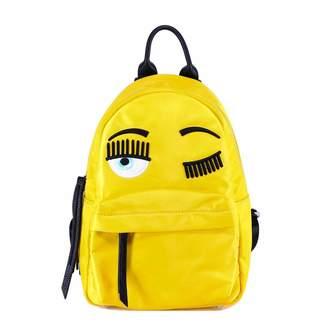 Chiara Ferragni Embroidered Eye Motif Top Handle Backpack