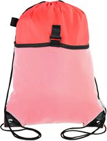 Mato & Hash Drawstring Cinch Bag Backpack With Mesh Pocket Tote Sack 5PK