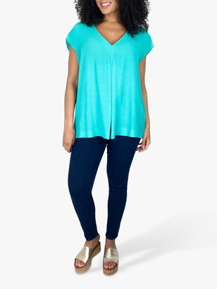 Live Unlimited Curve Pleat Front Blouse