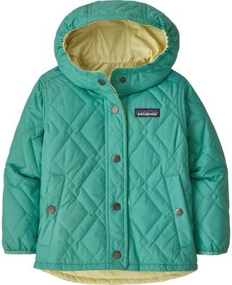 Patagonia Reversible Diamond Quilt Hooded Jacket - Toddler Girls'