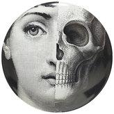 "Fornasetti Half Skull Face"" Plate"