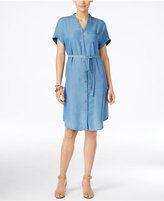 Style&Co. Style & Co. Petite Denim Shirtdress, Only at Macy's