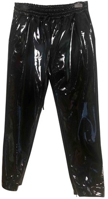 Michael Kors Black Synthetic Trousers