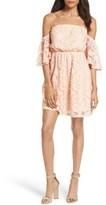 Soprano Women's Blouson Lace Minidress