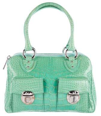 Marc Jacobs Shiny Crocodile Blake Bag