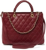 Persaman New York Lucille Quilted Leather Satchel