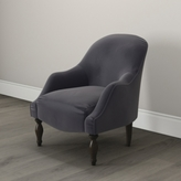 The White Company Belgravia Occasional Velvet Chair