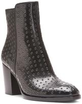 Donald J Pliner Women's SONOMASP - Grommet Calf Leather and Patent Leather Boot
