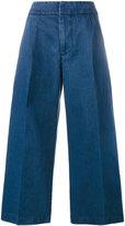 Marni cropped wide-leg jeans - women - Cotton - 40