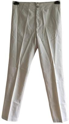 BA&SH Bash Beige Cotton Trousers