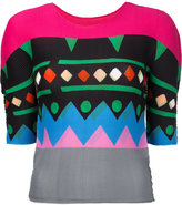 Issey Miyake Scape jumper - women - Polyester - One Size