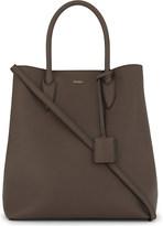 Max Mara Grained leather shoulder bag