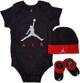 Jordan Baby Clothes Jumpman Air 3 Piece Set (0-6M) , 0-6 Months