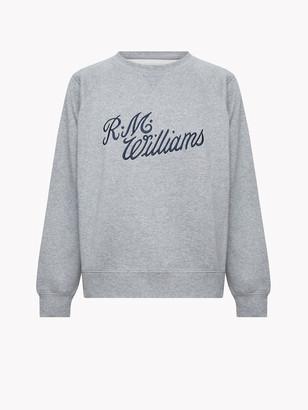 R.M. Williams RMW Script Crew Neck Jumper