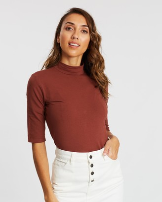 People Tree Cecily Turtleneck Top
