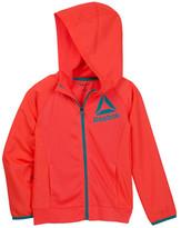 Reebok Delta Trainer Zip Front Hoodie Jacket (Big Girls)