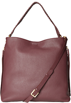 White Stuff Shea Leather Hobo Bag