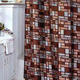 Veratex Zephyr Fabric Shower Curtain