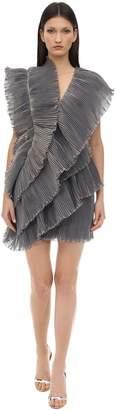 Lanvin Ruffled Tiered Dress