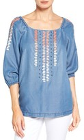 KUT from the Kloth Women's Shaylee Embellished Peasant Top