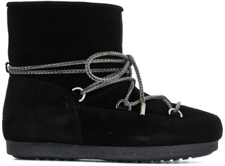 Moon Boot Lace-Up Ankle Boots