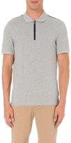 Michael Kors Half-zip Cotton-piqué Polo Shirt