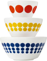 Pyrex Vintage Charm Inspired by Spot On 3-pc. Mixing Bowl Set