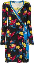 Diane von Furstenberg floral print wrap dress - women - Silk - 2