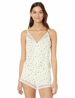 Eberjey Women's Dianna Button Down Teddy