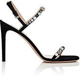 Valentino Women's Embellished Slingback Sandals-RED, PURPLE, BLACK