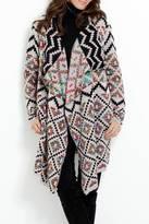 Katherine Barclay Aztec Wrap Cardigan