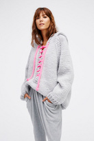 GOGO Womens LACE UP HOODIE