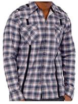 191 Unlimited Men's Casual Plaid Shirt