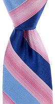 Murano Grid Striped Traditional Silk Tie