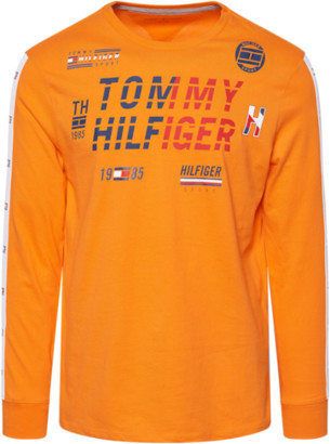 Tommy Hilfiger Spartan Long Sleeve T-Shirt - Orange Peel