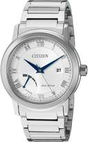 Citizen Men's 'Eco-Drive Dress' Quartz Stainless Steel Casual Watch, Color: -Toned (Model: AW7020-51A)