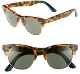 Toms Women's 'Modern' Retro 50Mm Sunglasses - Panama Tortoise