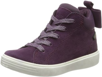 Ecco Girls S7 Teen Hi-Top Trainers