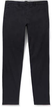HUGO BOSS Navy Crigan Slim-Fit Stretch-Cotton Twill Chinos